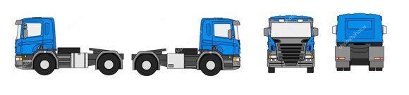 виды грузовика